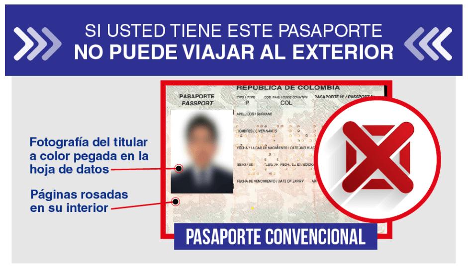 pasaporte convencional